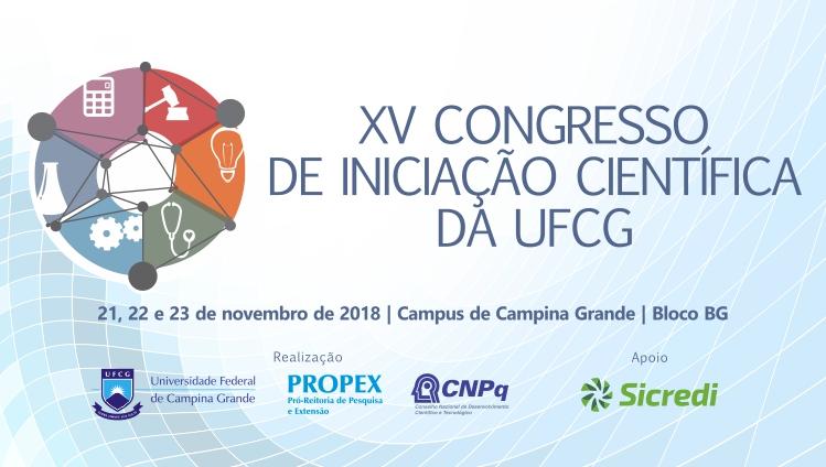 NART participa do XV Congresso de Iniciação Científica da UFCG